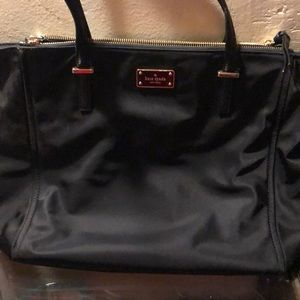Kate Spade Black Nylon Shoulder Purse